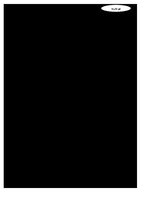 امتحان نوبت اول تاریخ معاصر ایران پایه یازدهم دبیرستان دخترانه کمال دانشگاه صنعتی اصفهان - دی ماه 96
