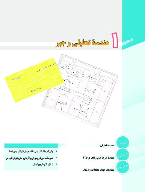 خلاصه درس، تمرین و تست های درس به درس ریاضی یازدهم رشته تجربی | فصل 1 تا 7