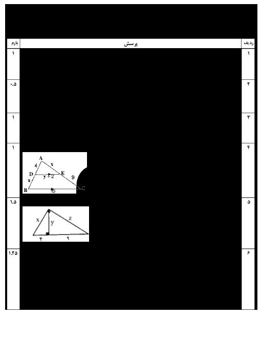 امتحان ترم دوم ریاضی یازدهم تجربی دبیرستان اسلام اصفهان | خرداد 1398