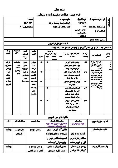طرح درس روزانه تاریخ معاصر ایران | درس 14: کودتای بیست و هشتم مرداد