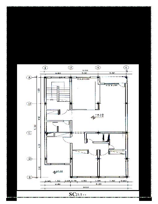 آزمون عملی اتوکد نوبت دوم نقشه کشی معماری دوازدهم هنرستان علی بن موسی الرضا | خرداد 1397