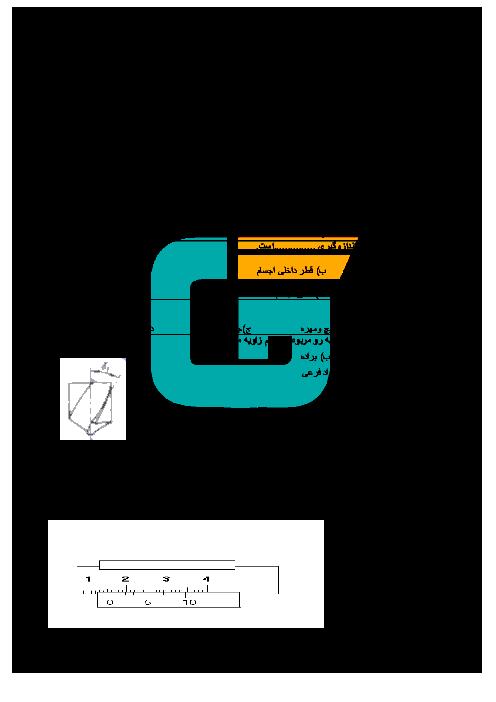 آزمون تئوری و عملی نوبت دوم برق کار صنعتی درجه 2 پایه دهم هنرستان کاردانش علی بن موسی الرضا + کلید | خرداد 96