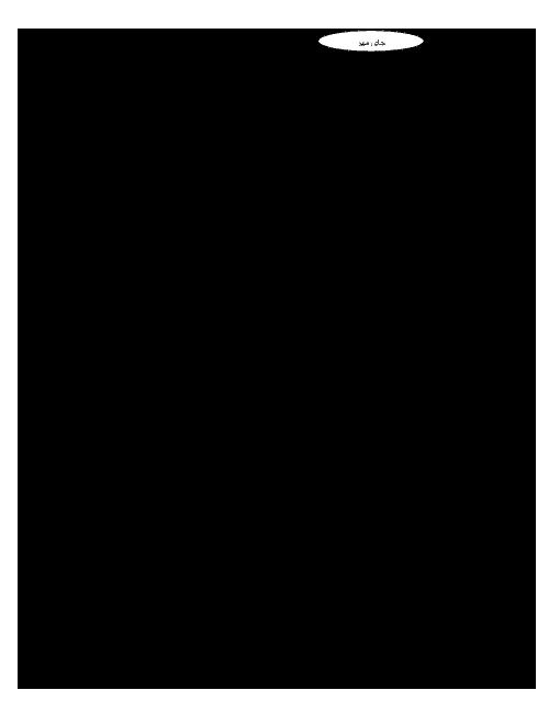 امتحان نوبت اول ریاضی (1) پایه دهم دبیرستان دخترانه کمال دانشگاه صنعتی اصفهان - دی ماه 96
