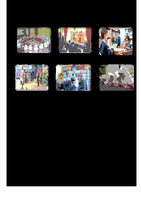 آزمون مطالعات اجتماعی سوم دبستان ایران | فصل 6: مدرسهی ما