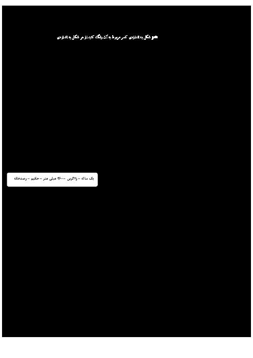 آزمون مستمر مطالعات اجتماعی ششم دبستان هاجر هجرت مریوان | فصل 1 تا 5