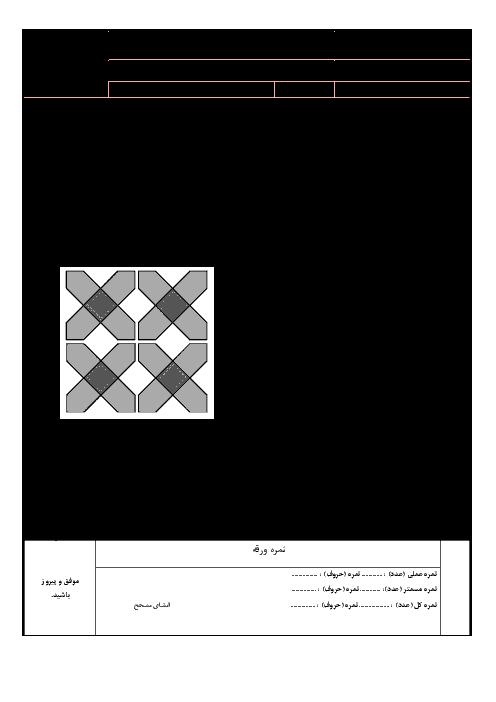 آزمون عملی نصب و راهاندازی سیستمهای رایانهای دهم هنرستان توحید    پودمان 2: کاربری سیستم عامل