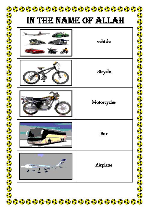 کلمات مرتبط با سفر همراه با تصویر  | Lesson2: Travel