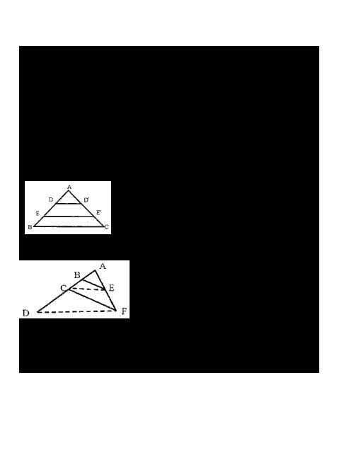 سوالات تستی هندسه (1) دهم دبیرستان رفاه | قضیه تالس و تشابه