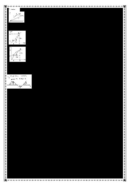 خلاصه کتاب فیزیک (3) دوازدهم رشته علوم ریاضی | فصل 1 تا 6