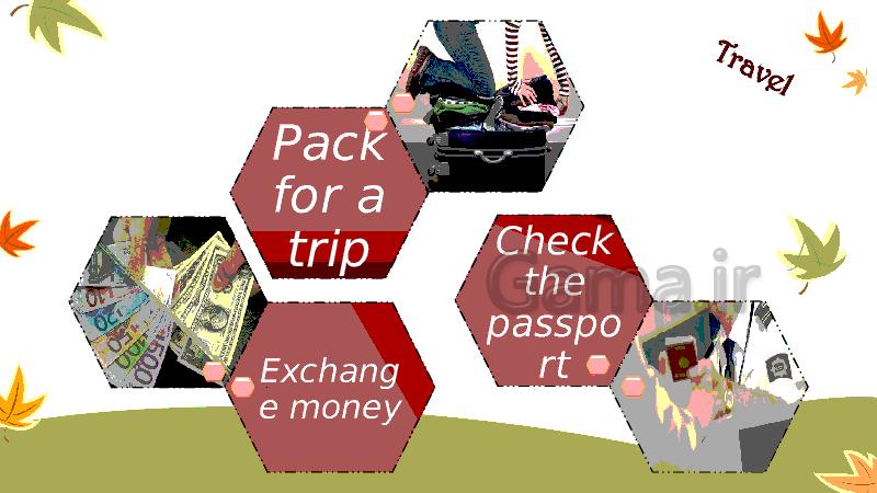 پاورپوینت درس دوم زبان انگلیسی پایه نهم | Lesson2: Travel- پیش نمایش