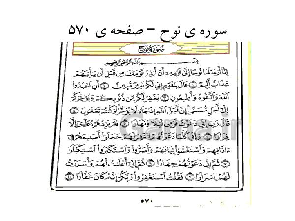 پاورپوینت آموزش قرآن کلاس نهم | اعجاز عددی قرآن- پیش نمایش