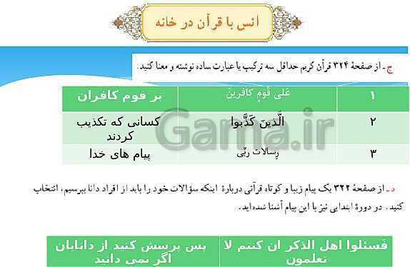پاورپوینت تدریس جلسه دوم درس 10 قرآن هفتم- پیش نمایش