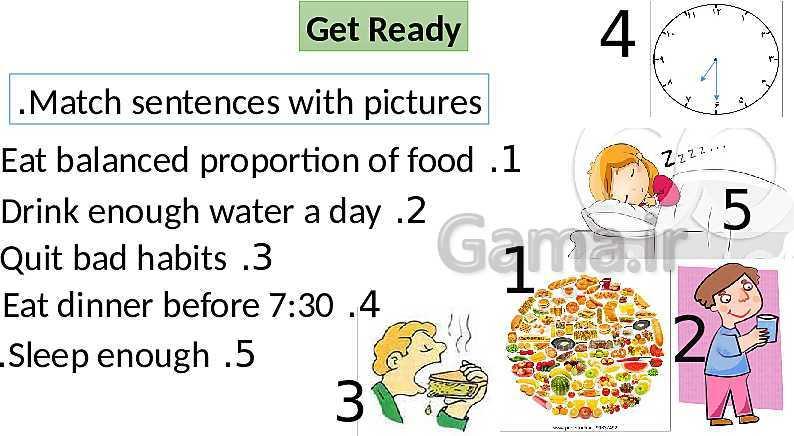 پاورپوینت درس 2 زبان انگلیسی (2) یازدهم | Lesson 2: A Healthy Lifestyle- پیش نمایش
