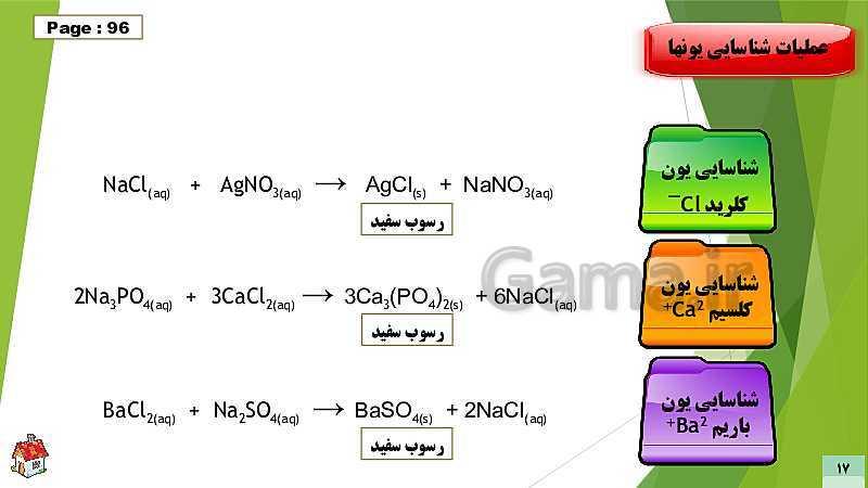 پاورپوینت آموزش و پاسخ خودآزمایی های شیمی (1) دهم | 1-3 آب کره- پیش نمایش