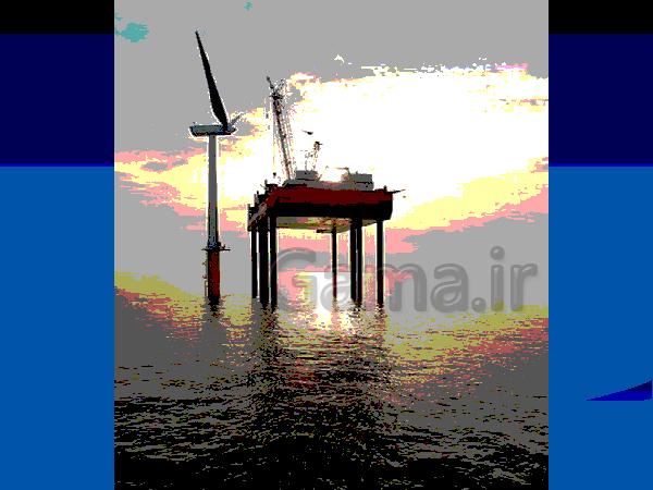 پاورپوینت نیروگاه بادی (توربین بادی)   علوم ششم- پیش نمایش