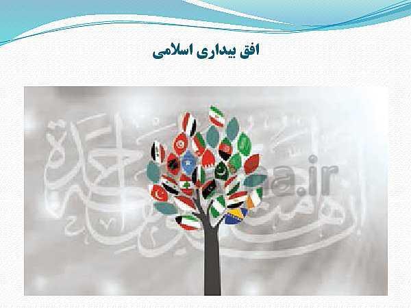پاورپوینت جامعه شناسی (2) یازدهم انسانی | درس 15: افق بیداری اسلامی- پیش نمایش