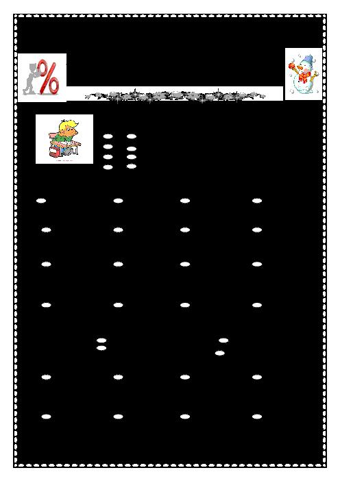 آزمون مدادکاغذی ریاضی ششم دبستان شهید دهقان مه ولات | فصل 3: اعداد اعشاری