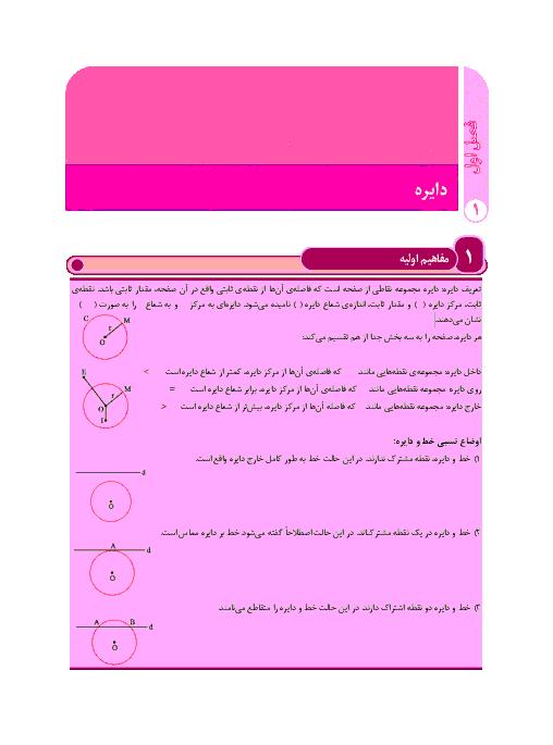 درسنامه آموزشی هندسه (2) پایه یازدهم رشته ریاضی | فصل اول- درس 1 و 2