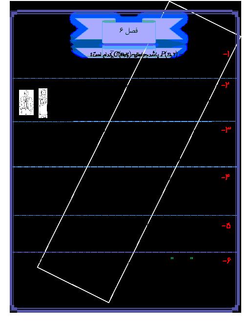 آزمون تستی ریاضی (1) پایه دهم | فصل 6: شمارش، بدون شمردن