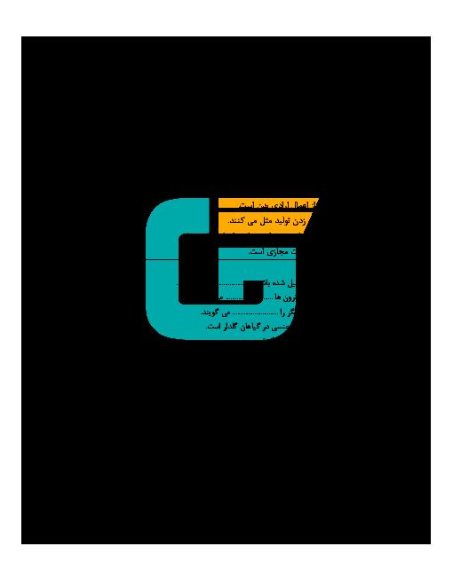 امتحان نوبت دوم علوم تجربی هشتم مدرسه یاسر + جواب | خرداد 96